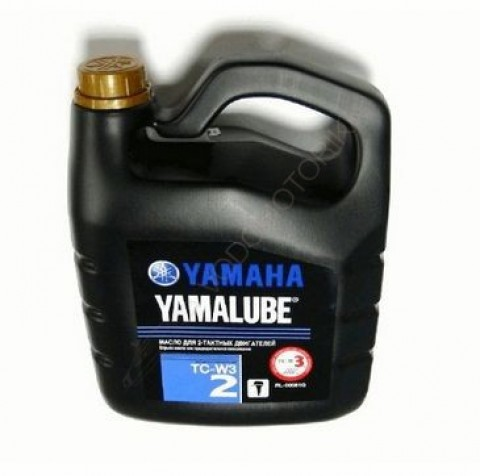 Моторное масло Yamalube 2-M TC-W3 RL Marine Mineral Oil (5 л)